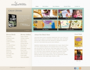Web Design / Book Store Web Design