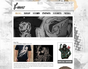 Web Design / Urban Shop and Blog