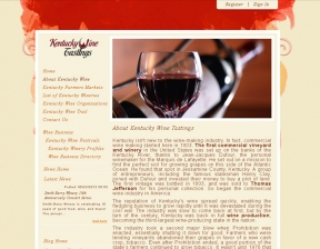 Web Development / Wine Business Portal