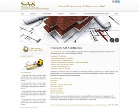 Web Design / Construction Company Website