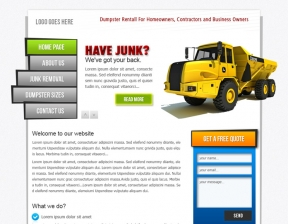 Web Design / Junk Removal Company