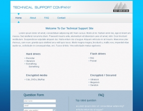 Web Design / Technical Support Company