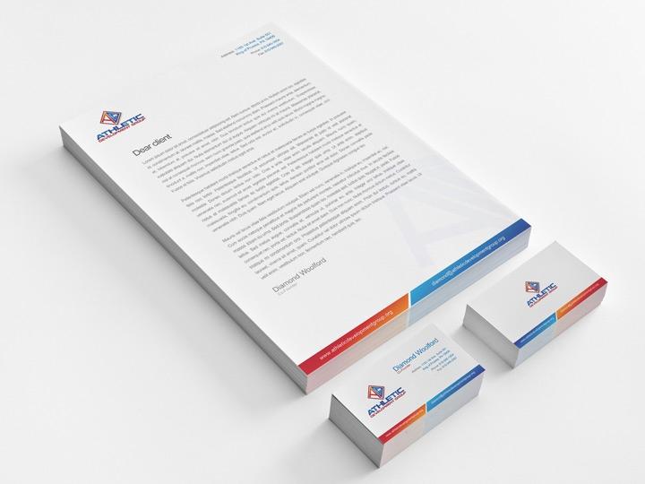 Graphic and Print Design / Sport Company Branding
