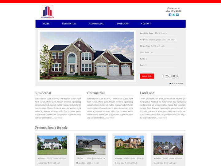 Web Design / Real Estate Company