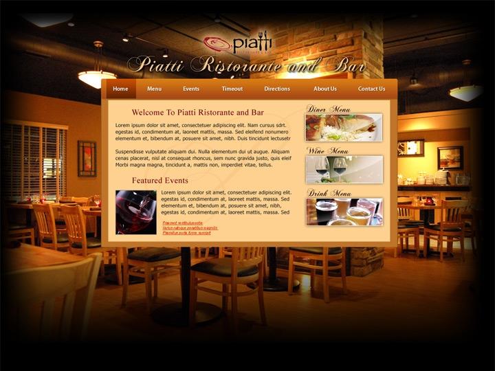 Web Design / Restaurant Web Design