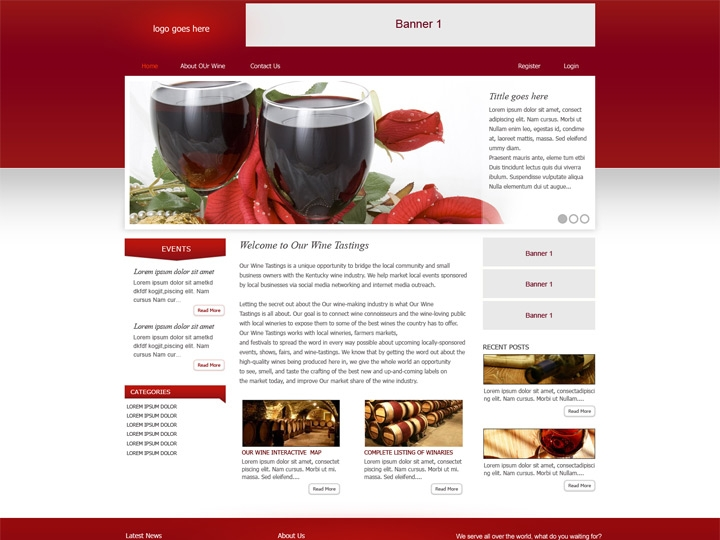 Web Design / Vinery Company