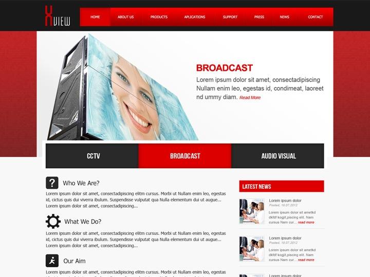 Web Design / Broadcasting Software Company