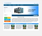 Web Design / Battery Company