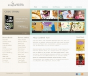 Portfolio / 2009 / Book Store Web Design