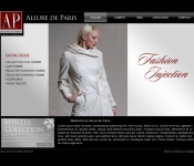 Portfolio / 2010 / Fashion Studio Web Design