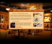 Portfolio / 2010 / Restaurant Web Design