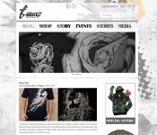 Web Design / Urban Shop and Blog