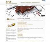 Portfolio / 2012 / Construction Company Website