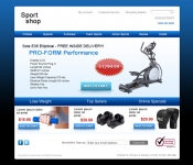 Web Design / Sport Equipment Store