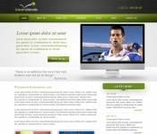 Portfolio / 2010 / Tennis School Website Design